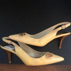 Cute summer COACH heels